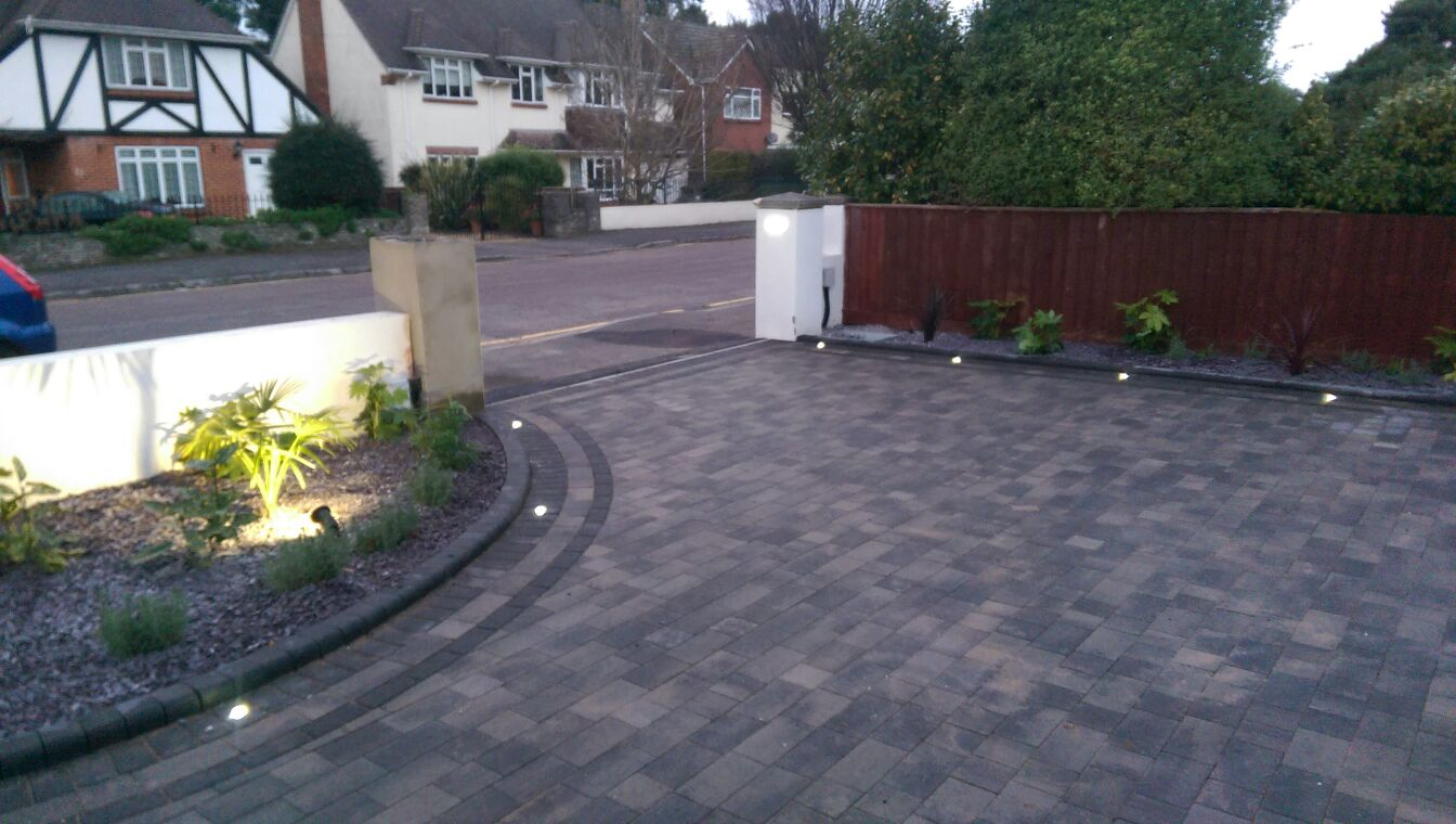 Driveway lights dw allen electrical for How to install driveway lights