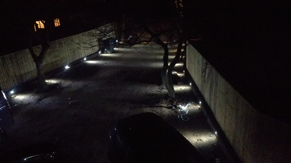 driveway lights dw allen electrical